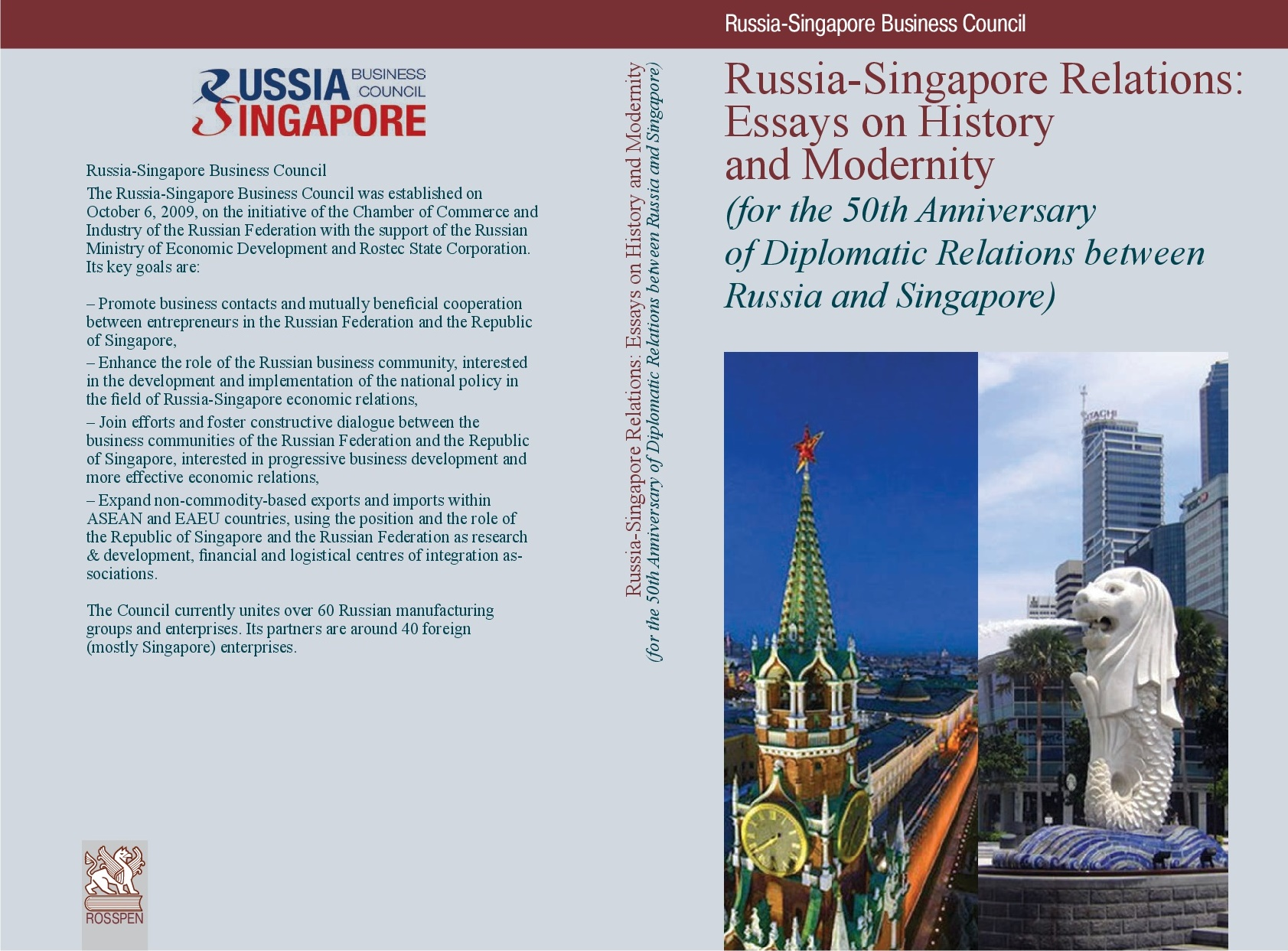 Russia-Singapore Relations: Essays on History and Modernity