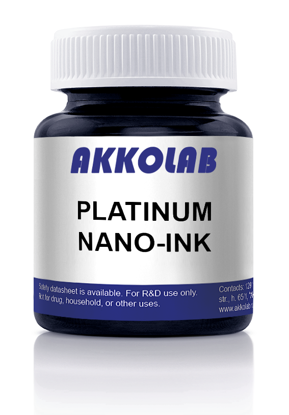 Platinum nano-ink