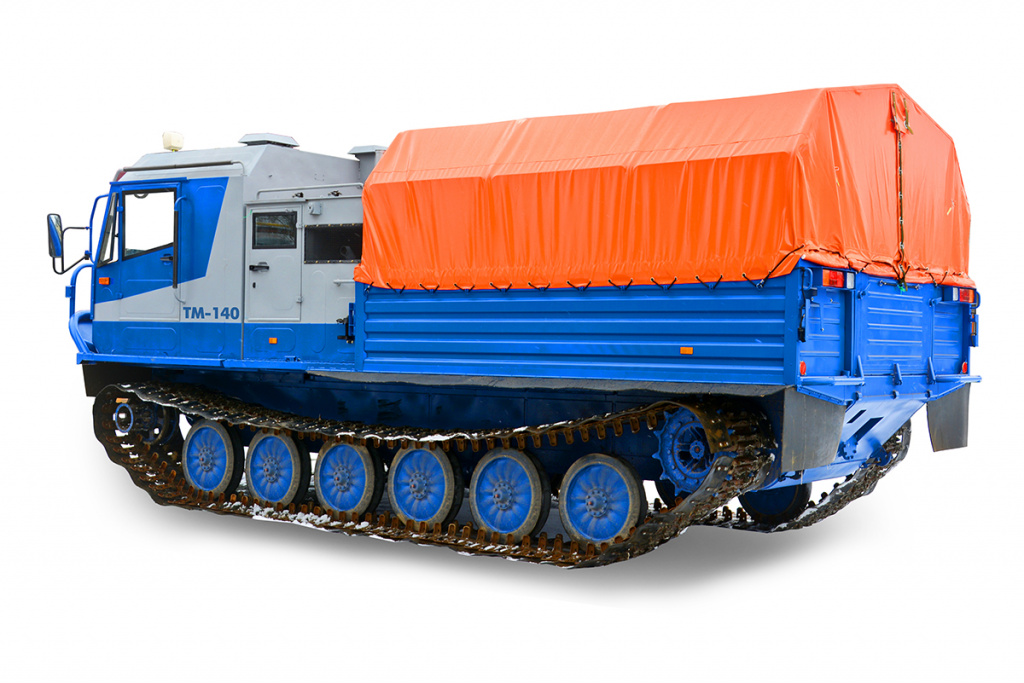 All-terrain vehicle TM-140 with a cargo platform